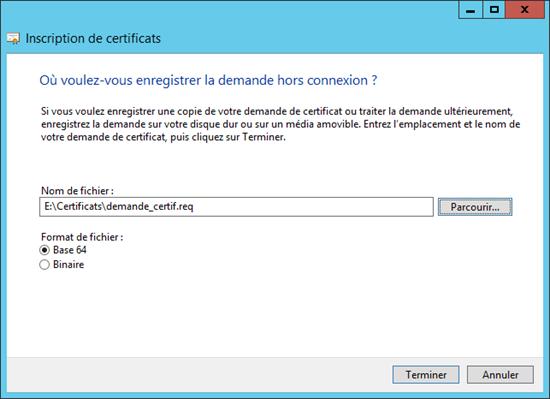 iis 7.5 installer le certificat auto-signé