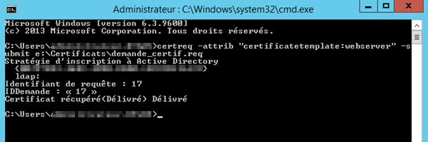 Installation configuration rds 2012r2 avec broker sur for Ouvrir une fenetre dos